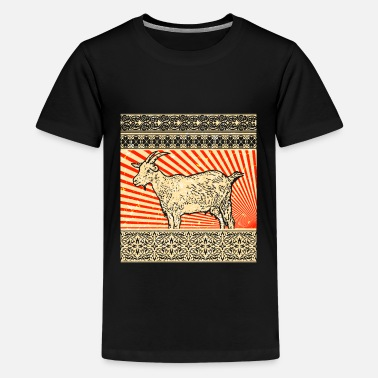 Goat Goat goat - Teenage Premium T-Shirt
