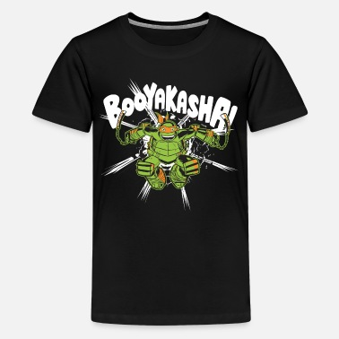 TMNT Turtles Michelangelo Booyakasha - Teenager premium T-shirt