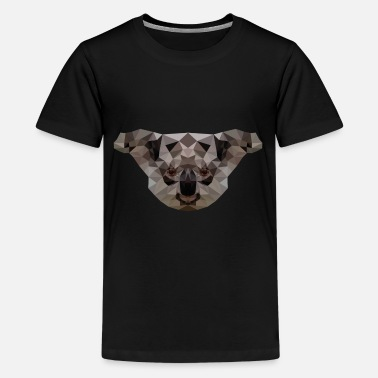 Koala Jungle Low Poly - Gift Idea - Teenage Premium T-Shirt