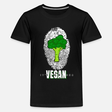 Vegan Power T-Shirt Gift Vegan - Premium T-shirt tonåring