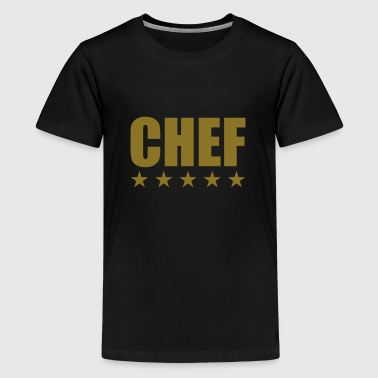 Chef - T-shirt Premium Ado