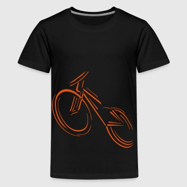 wheel - Teenage Premium T-Shirt