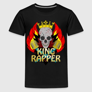 King Rapper - Teenager Premium T-shirt
