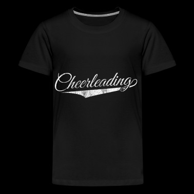 Cheerleader shirt Cheerleading team gift - Teenage Premium T-Shirt