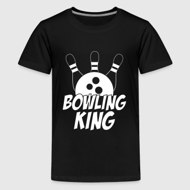 Bowling King - Teenager Premium T-Shirt