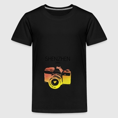 China, Shenzhen - Teenager Premium T-Shirt