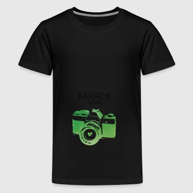 Pakistan, Karachi - Teenager Premium T-Shirt