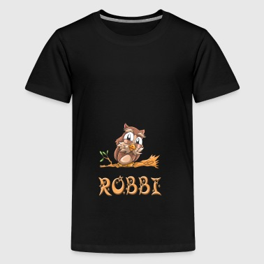 Eule Robbi - Teenager Premium T-Shirt