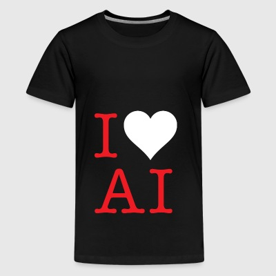 AI LOVE - Teenage Premium T-Shirt