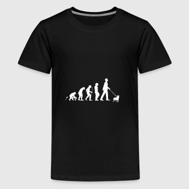 Miniature Bull Terrier Geschenk Shirt - Teenager Premium T-Shirt