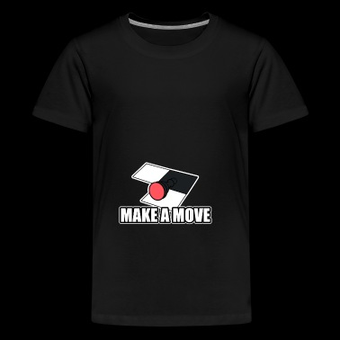 Make a move Figurine Bauer Chess Checkmate - Teenage Premium T-Shirt