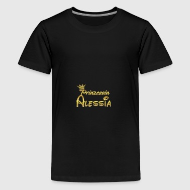 PRINZESSIN PRINCESS QUEEN GESCHENK Alessia - Teenager Premium T-Shirt