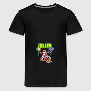 Brandmænd Julien gave - Teenager premium T-shirt