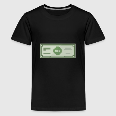 hundert Dollar - Teenager Premium T-Shirt