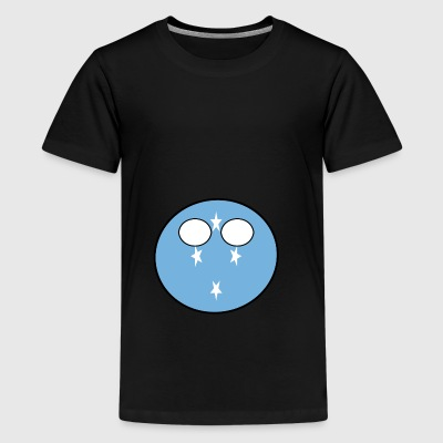 Countryball Country Home Micronesia - Teenage Premium T-Shirt