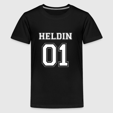 Heroine 01 White Edition - Teenager premium T-shirt