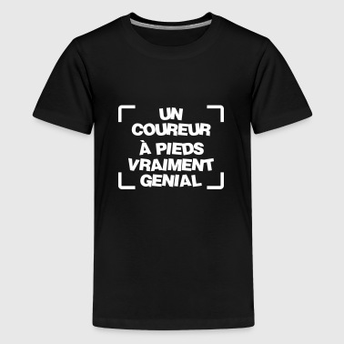 Course à pied / Coureur / Jogging / Running / Run - T-shirt Premium Ado