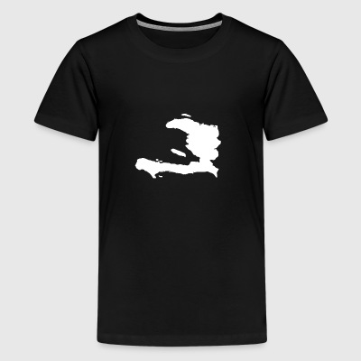 Haiti Original Gift Idea - Teenage Premium T-Shirt
