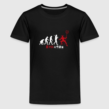 evilution - Teenager Premium T-shirt