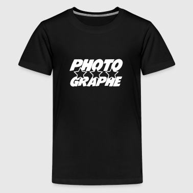 Photographe - Teenage Premium T-Shirt