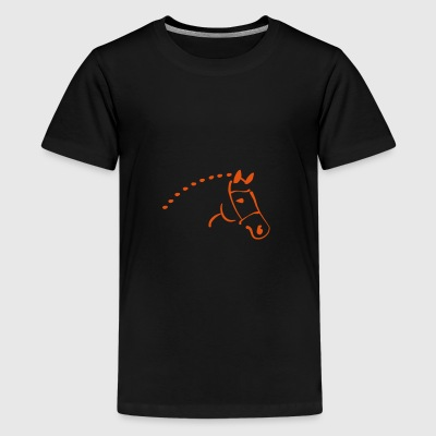 2541614 12661992 paard - Teenager Premium T-shirt