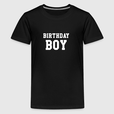 Birthday Boy Happy Birthday Party Gift - Premium-T-shirt tonåring