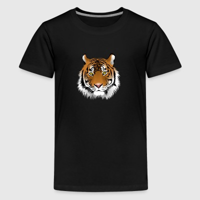 Tiger - Teenage Premium T-Shirt