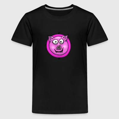 Pig pink - Teenage Premium T-Shirt