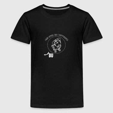 Mops hund - Teenager Premium T-Shirt