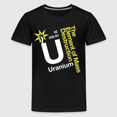 OBE Uranium - Teenage Premium T-Shirt