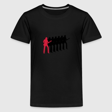 bassist - Teenager premium T-shirt