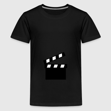 2541614 11414164 filmklappe - Teenager Premium T-Shirt