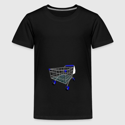 shopping cart - Teenage Premium T-Shirt