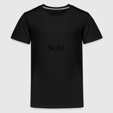solo - Teenager Premium T-shirt