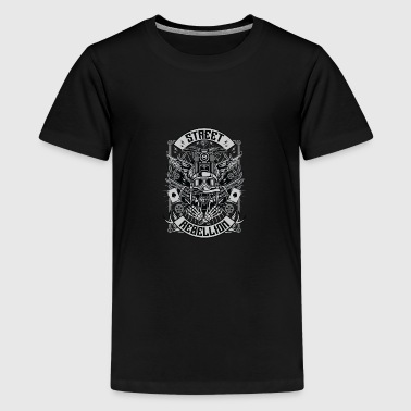 Street Rebellion - Teenager Premium T-Shirt