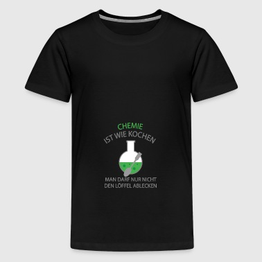 2541614 137715849 Chemie - Teenager Premium T-Shirt