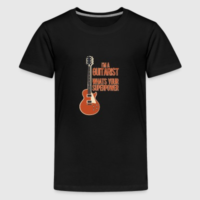 Awesome GUITARIST - Musik - Teenager premium T-shirt
