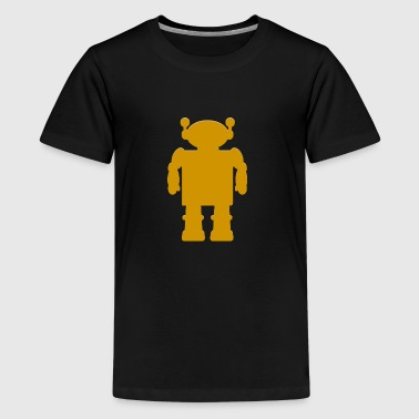 robot - Teenage Premium T-Shirt