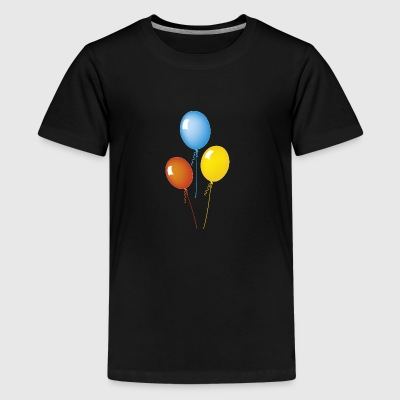 balloner - Teenager premium T-shirt