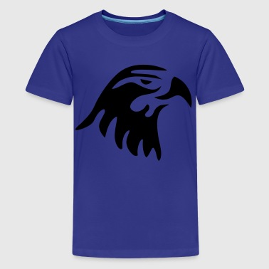 eagle head - Teenage Premium T-Shirt