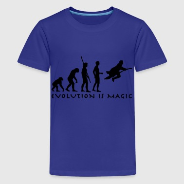 evolution_potter_1c_b - Premium-T-shirt tonåring