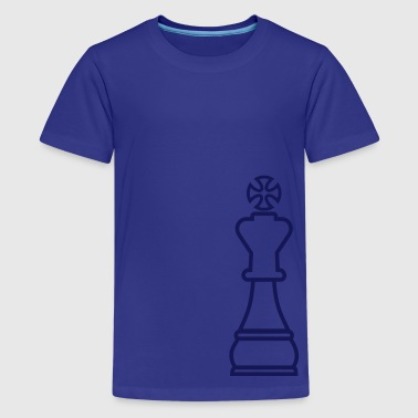 Chess King - Teenage Premium T-Shirt