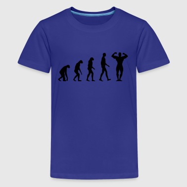 Evolution Fitness - Teenage Premium T-Shirt