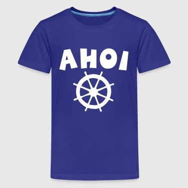 Ahoi Wheel - Teenager Premium T-Shirt