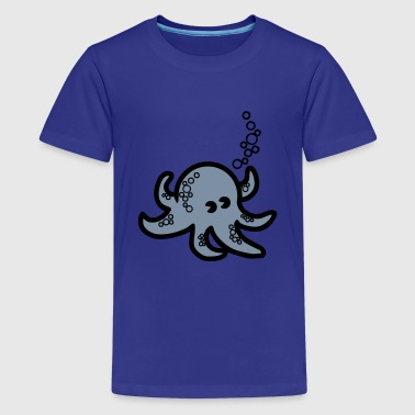 octopus - Teenager Premium T-Shirt