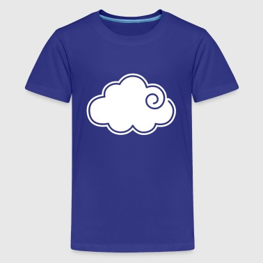 Wolke - Teenager Premium T-Shirt