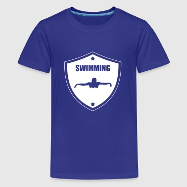 Swimming - Camiseta premium adolescente