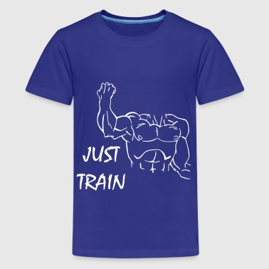 Just Train - Camiseta premium adolescente