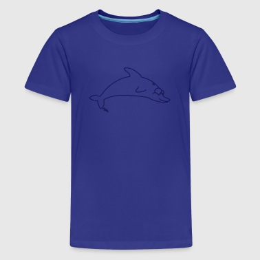 Delfin - Teenager Premium T-Shirt