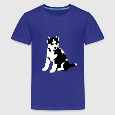 HuskyJunior  - Teenage Premium T-Shirt
